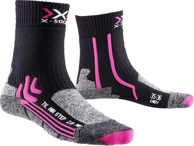 X-Bionic Air Step 2.0 Trekking Socks Damen black/fuchsia